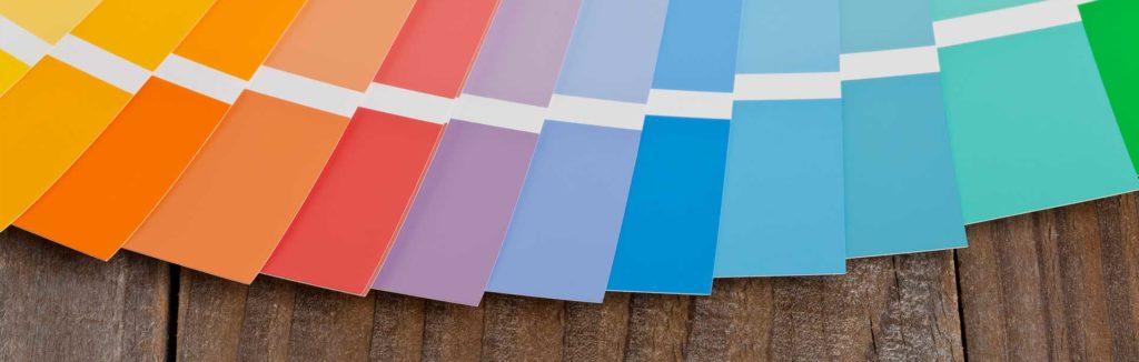 Latex spuiten in kleur
